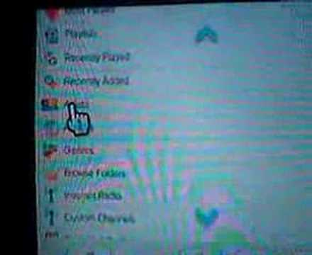 Stream music to Wii