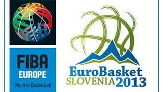FIBA Eurobasket 2013  - Moments To Remember