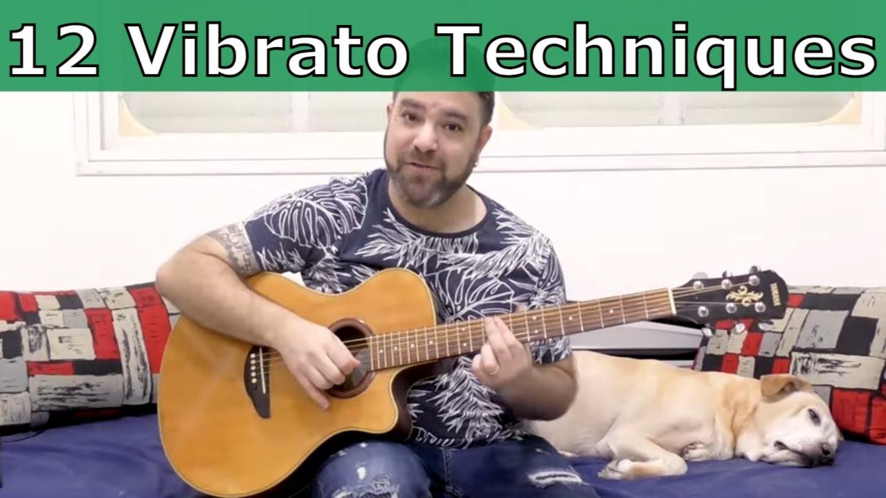 Masterclass: The 12 Vibrato Techniques     Guitar Lesson     LickNRiff