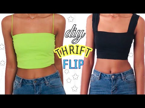 5 DIY FASHION TOPS FROM OLD BORING CLOTHES
