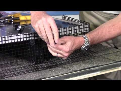 How To Install Bird Barrier's Solar Panel Exclusion Kit