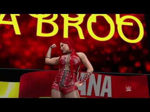 WWE 2K17 - All Divas gets Red (Bonus: Sophia new attire)