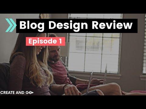 Blogging Tips: Real Blog Reviews Episode #1 - Avocadu.com (Health and Wellness Website)