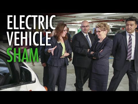 "Wynne's electric car ""taxpayer money pit"" goes even deeper"