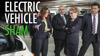 """Wynne's electric car """"taxpayer money pit"""" goes even deeper"""