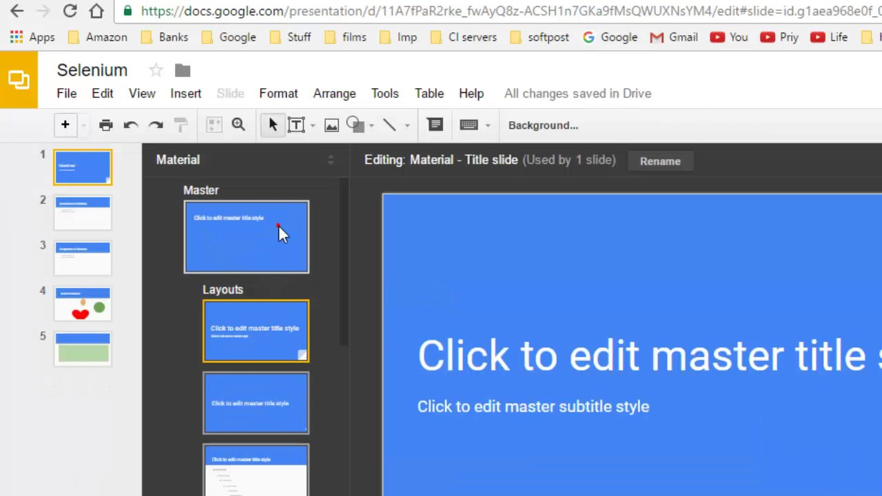 how to edit theme in google slides youtube