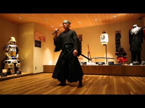 Tate, Samurai Sword Performance, Samurai Museum, Shinjuku, Tokyo, Japan