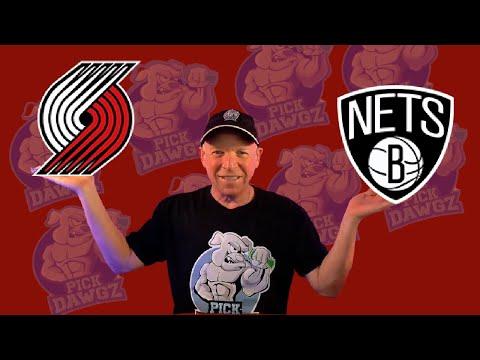 Portland Trail Blazers vs Brooklyn Nets 3/23/21 Free NBA Pick and Prediction NBA Betting Tips