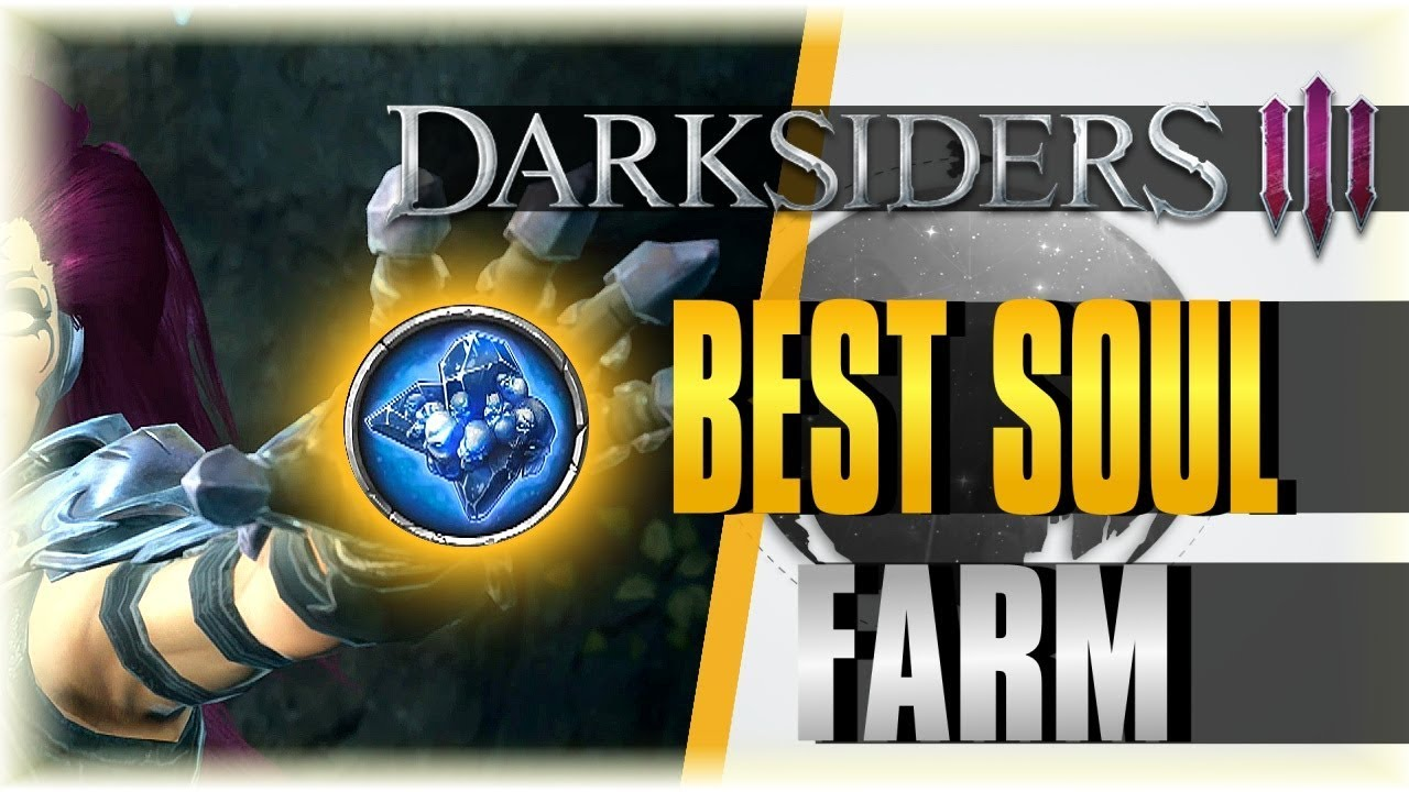 BEST SOUL FARM!! | Darksiders 3 #5 | The Beginning [Lurcher Farming Guide