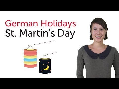 German Holidays - St. Martin's Day