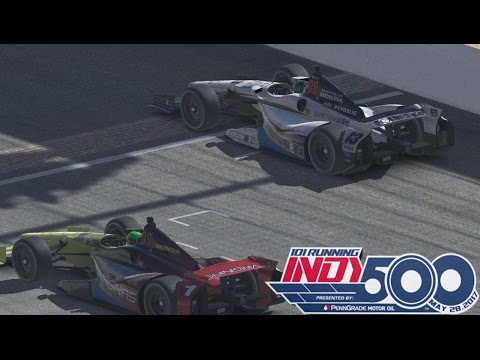iRacing : Iracing Indy 500 ( Open ) ( Race 1 of 2 ) @ Indianapolis Motor Speedway  - full race