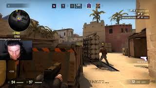 CS:GO bubble with insane pistol 4k - TRAIN AIM !