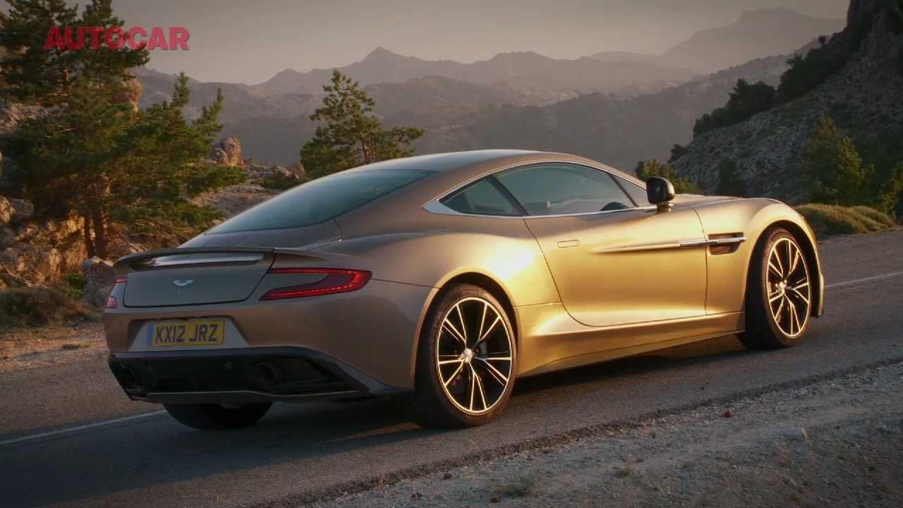 Aston Martin Vanquish Exclusive Ride Youtube