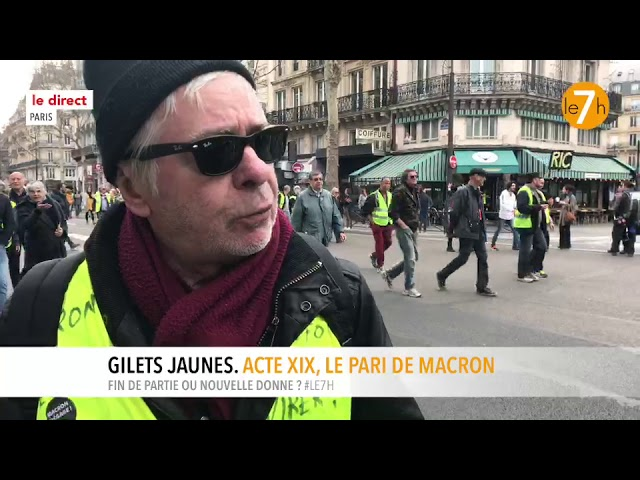 Le direct : Gilets Jaunes. Acte XIX, le pari de Macron (3/3)