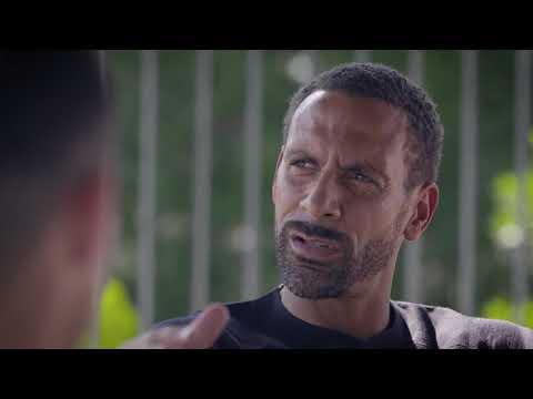 Conversación entre CR7 y Rio Ferdinand