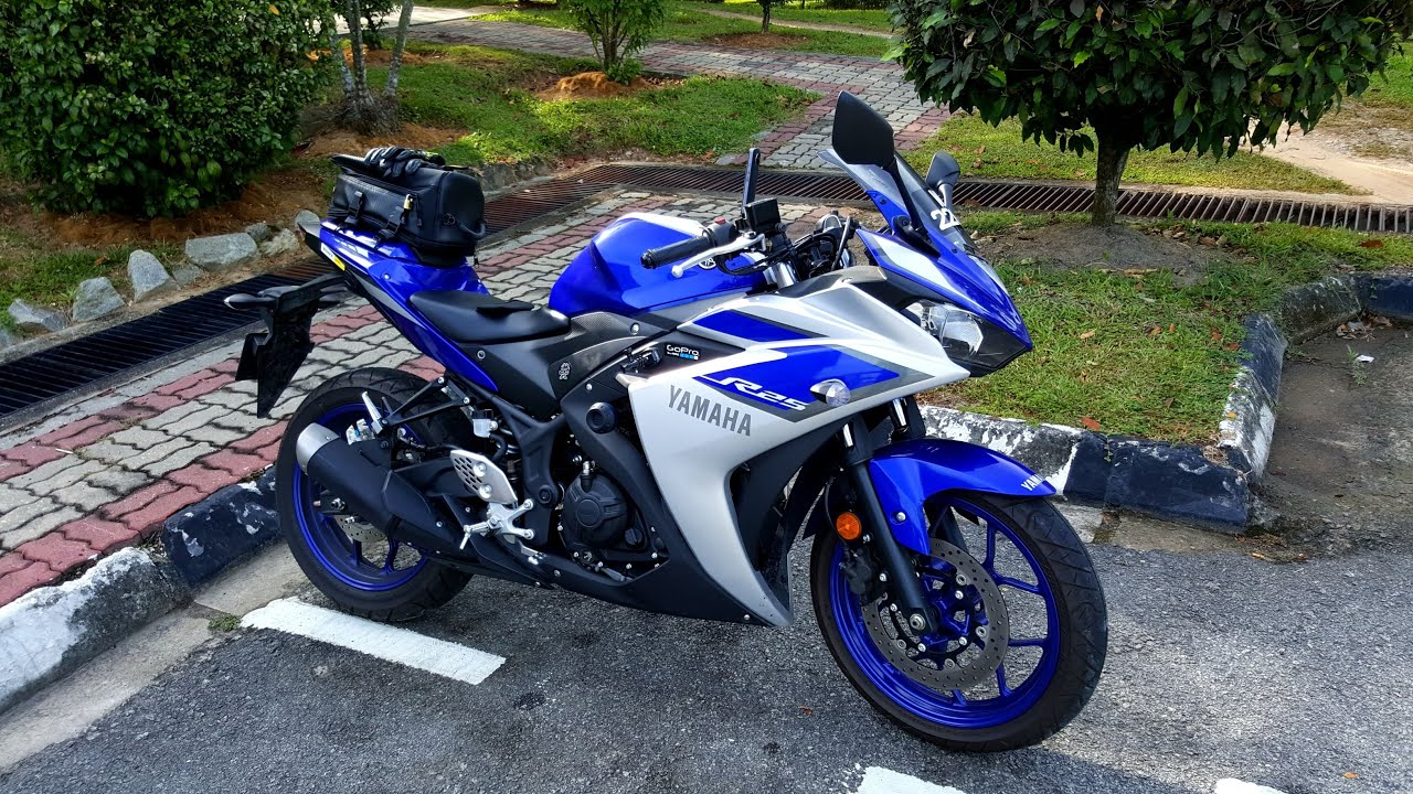 Sunday morning ride yamaha yzf r25 banting port dickson for Yamaha yzf r25