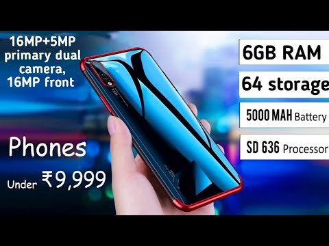 Top 5 Smartphones Under 10,000 May2019 6GB RAM/64GB Storage Pubg Geming Phone,best Phone Under 10000