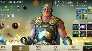 Dawn of Titans: Thor vs Mitano