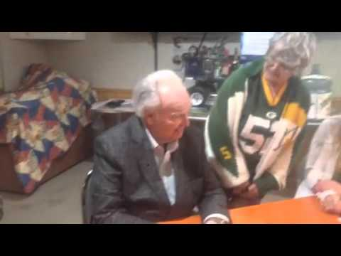 Paul Hornung meets his fans