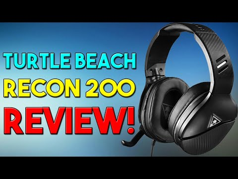 TURTLE BEACH RECON 200 REVIEW!! ARE THEY THE BEST TURTLE BEACH? THE BEST TURTLE BEACHES EVER!!