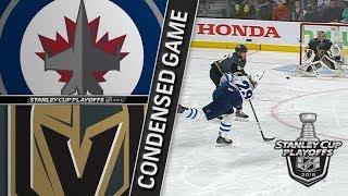 Winnipeg Jets vs Vegas Golden Knights WCF, Gm4 May 18, 2018 HIGHLIGHTS HD