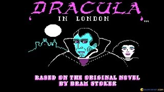 Dracula in London gameplay (PC Game, 1988)