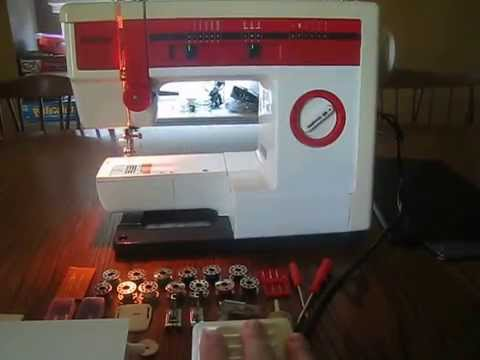 Brother VX40 Sewing Machine YouTube Awesome Brother 35th Anniversary Sewing Machine