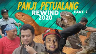 PARASIT CACING GARAGA,SAMPAI KEHADIRAN GOLDEN KING COBRA | PALANG REWIND 2020 LAST PART