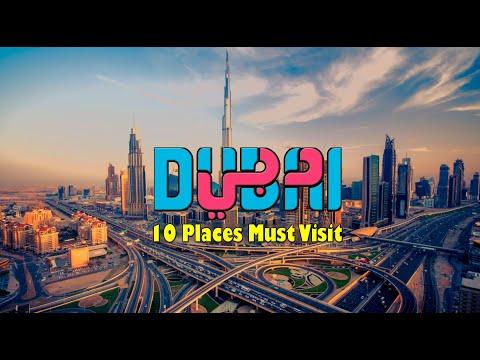 Dubai 10 Places Must Visit   Selfie Places   2021 Tourist Attractions