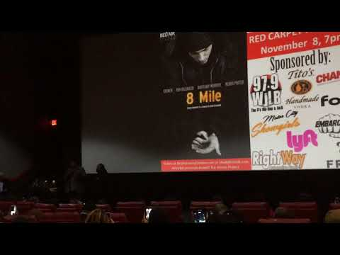 Sol George (Omar Benson Miller) speach at 8 Mile 15 Year Anniversary Red Carpet Premiere 2017