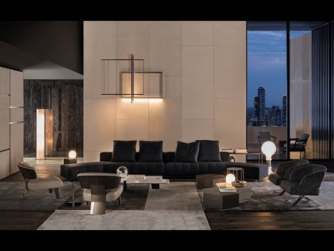 Xtra Minotti The Furniture In Homes Of Movie Stars
