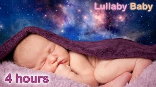 ✰ 4 HOURS ✰ COSMIC JOURNEY ♫ Baby Music to Sleep ✰ Suitable for Relaxation, Meditation, Pregnancy