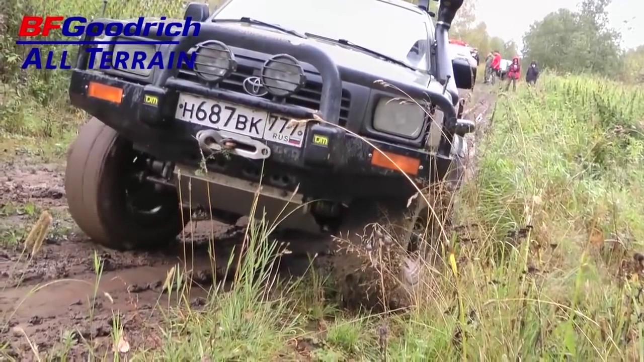 Goodyear wrangler duratrac на jeep видео