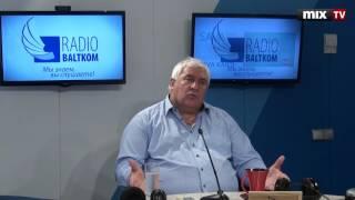 "Эдгар Трейбергс в программе ""Разворот"" #MIXTV"