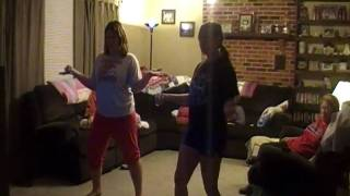 "Courtnee vs. Payton ""Just Dance"" game wii"
