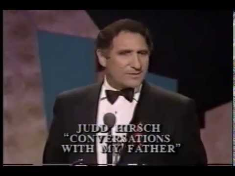 Judd Hirsch wins 1992 Tony Award for Best Actor in a Play