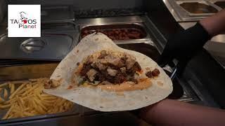 Vidéo publicitaire pour Tacos Planet