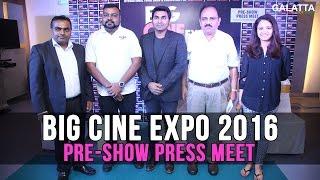 Big Cine Expo 2016 Pre-Show Press Meet