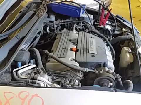 Camshaft Position Sensor >> CJ0890 - 2005 Honda Accord LX - 2.4L Engine - YouTube