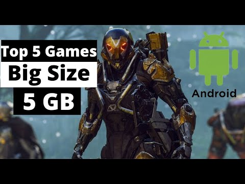 TOP 5 BIG SIZE GAME FOR ANDROID 5GB + | HIGH GRAPHIC GAME FOR ANDROID | CONSOLE GAME FOR ANDROID