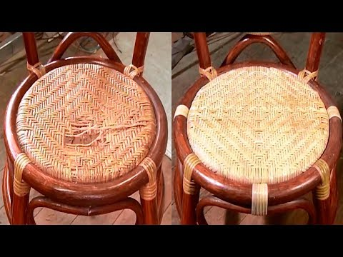 Ремонт по-японски: Ремонт ротанговой мебели