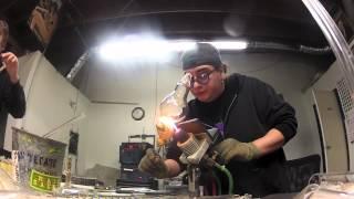 E-Ro assembeling an oil rig
