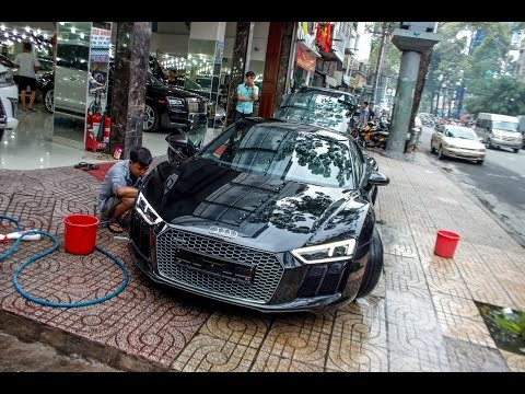 Audi R8 V10 Plus 2016 thứ 6 tại Việt Nam