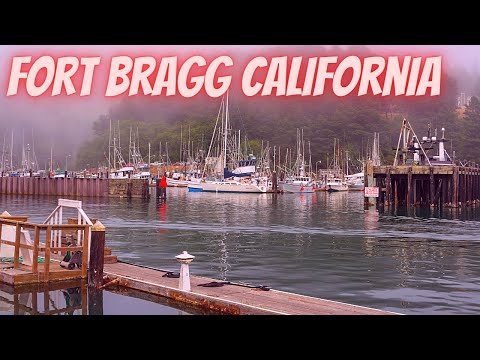 Fort Bragg California....PCH 1....Marinas...Boats...Harbor...RVerTV