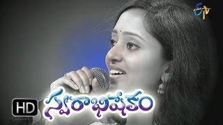Seetarama Kalyanam Song   Malavika Performance in ETV Swarabhishekam   27th Sep 2015