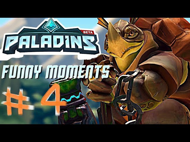 Paladins - Trolling   WTF Moments   Funny moments and Epic fails #4