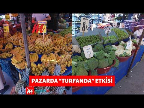 """Pazarda """"Turfanda"""" Etkisi"""