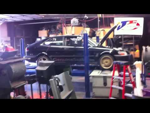 Saab B205 62mm Dyno Run 710whp