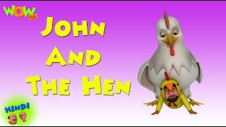 John And The Hen - Motu Patlu in Hindi WITH ENGLISH, SPANISH & FRENCH SUBTITLES