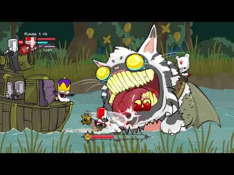 Castle Crashers:Catfish Boss